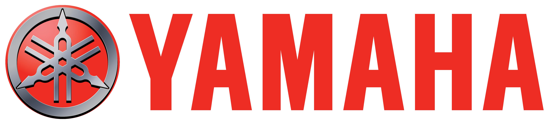 Logotipo de Yamaha en color rojo